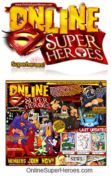 Online Super Heroes